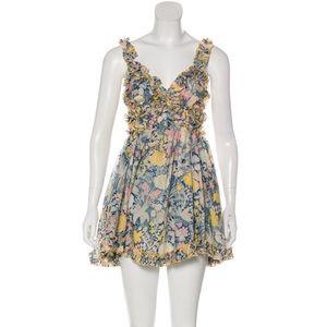 Alice McCall Gardenia gold bloom dress